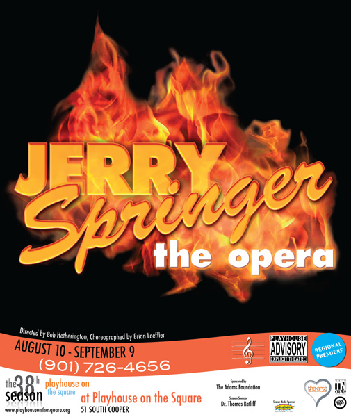 Jerry Springer - The Opera Poster
