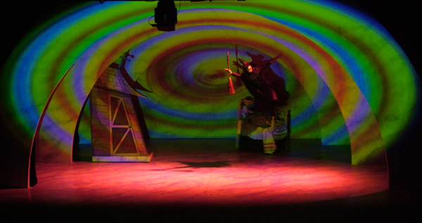 Rory Dale, Video and Projection Design, The Wizard of Oz